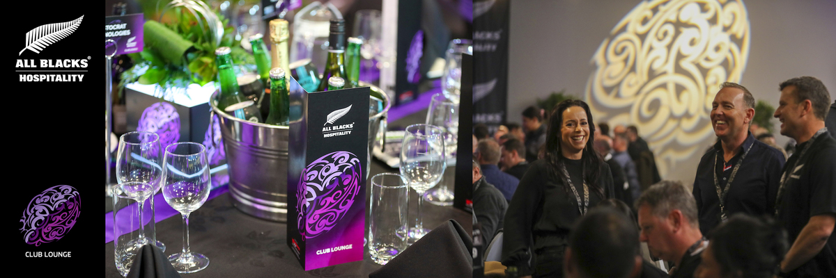 Auckland - Club Lounge - All Blacks Hospitality 2021